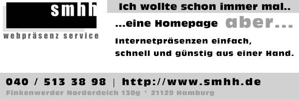SMHH Webpräsenz Service
